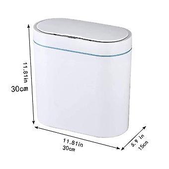 Smart sensor søppel kan elektronisk automatisk husholdning toalett soverom stue vanntett smal søm sensor bin