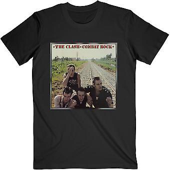 The Clash - Combat Rock Unisexe Petit T-Shirt - Noir