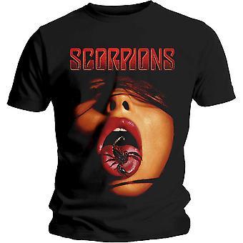 Escorpiones - Scorpion Tongue Unisex Medium T-Shirt - Negro