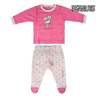 Children's Pyjama Snoopy Pink