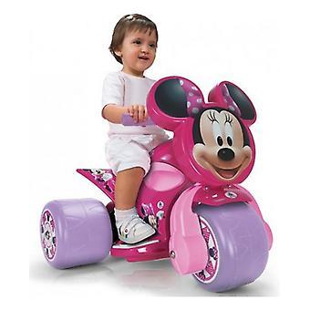 Foot to Floor Motorbike Minnie Mouse Samurai 6 V Pink (59,5 x 51 x 46,5 cm)