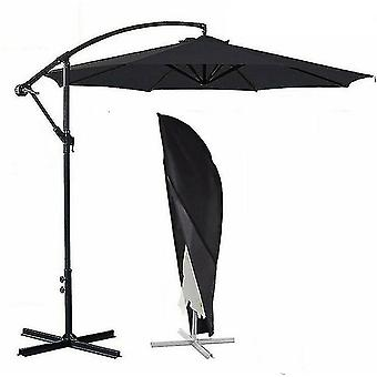 Waterproof Large Oxford Cloth Parasol Cover Banana Umbrella Cover(M 265cm*70cm)