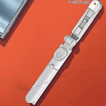 שידור חי חצובה סלפי מקל LED אור(לבן)