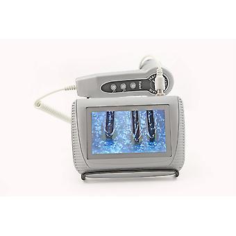 Analizzatore capelli pelle - Mini fotocamera portatile per il monitoraggio viso e pelle - Display LCD 60Hz-5 '' (bianco)