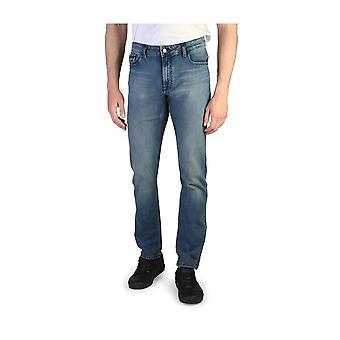 Calvin Klein -BRANDS - Vaatteet - Farkut - J30J306023-918-L32 - Miehet - royalblue - 38