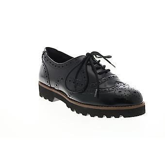 Earthies Vuxna Kvinnor Santana Brush Lace Up Shoe Oxford Lägenheter