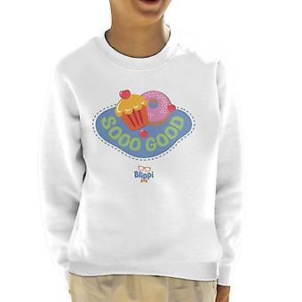 Blippi Desserts Are Sooo Good Kid's Sweatshirt