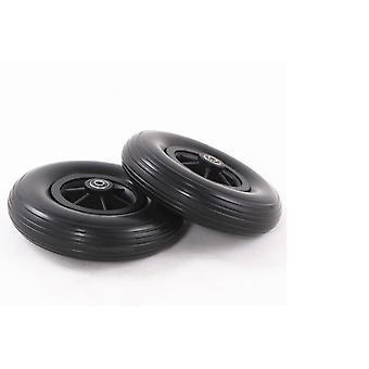 8 Inch Pu Tires 200*50mm The Front Wheel