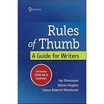 Rules of Thumb 9e MLA 2016 UPDATE by Jay SilvermanElaine HughesDiana Wienbroer