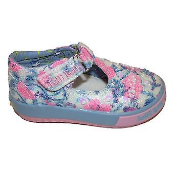 Lelli Kelly Justine LK4025 Blue T-bar Shoes
