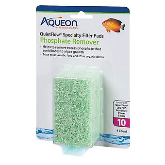 Aqueon Phosphate Remover for QuietFlow LED Pro Power Filter 30/50 - 4 count