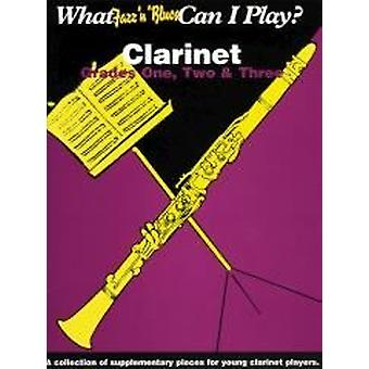 What jazz & blues can I play? Clarinet Grade 1-3