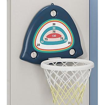 מיני קיר מקורה רכוב כדור נטו ילדים לשחק עבור ילדים כדורסל משחק  כדורסל