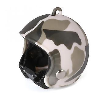 Pet id tags chicken bird head protection helmet bird hat funny pet helmet clothing accessori bird hens duck