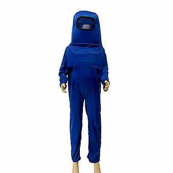 Děti mezi námi hra Jumpsuit Head Decor Bag Cosplay Kostým Suit Halloween