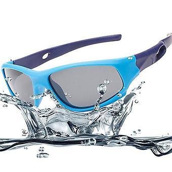 Polarisierte Kinder Sonnenbrille Classic Square Gummi Flexible Shades