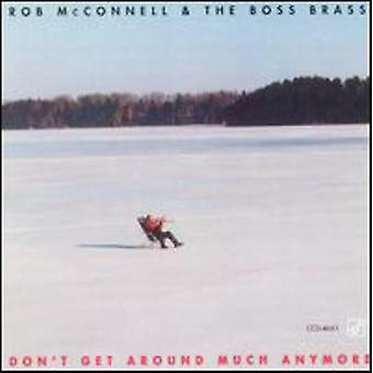 Rob McConnell & Boss Brass - Don't Get autour beaucoup Anymore [CD] USA import