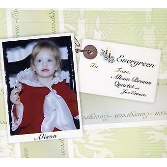 Alison Brown Quarteto - importação de Evergreen EUA [CD]