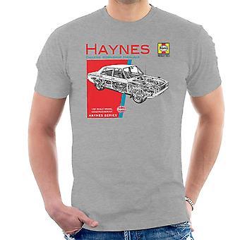 Haynes omistajat työpaja käsikirja 0033 Hillman Hunter GLS Miesten t-paita