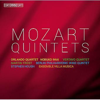 Mozart/Orlando Qrt/Imai/Vertavo Qrt/Frost - importar de USA quintetos [CD]