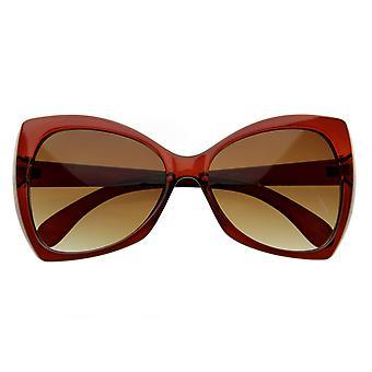 Projektant zainspirował Oversize moda odzież okulary w kształcie motyla
