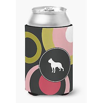 Carolines tesori KJ1109CC Boston Terrier lattina o bottiglia bevanda isolante Hu
