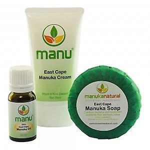 Manuka Naturals Ringworm Combo - Manuka Soap, Oil & Cream