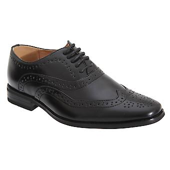 Goor Boys 5 Eye Brogue Oxford Shoes