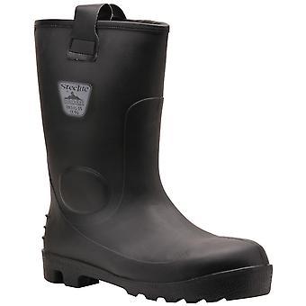 Portwest メンズ Steelite ネプチューン防水安全リガー ブーツ