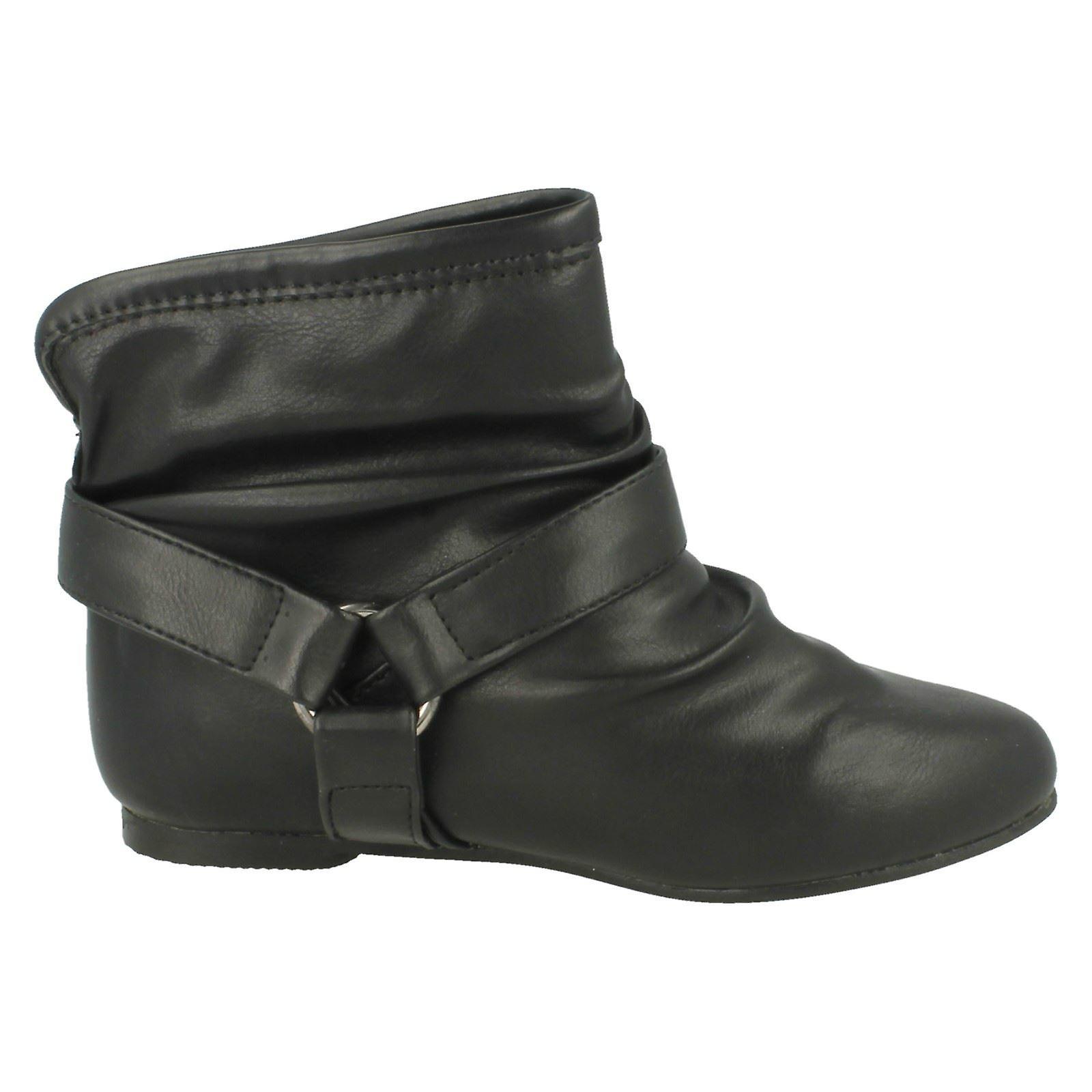 Ladies Flekk På Flat Ankel Boot