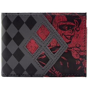 DC Comics Batman Harley Quinn ID & Card Bi-Fold Wallet