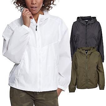 Urban Classics doamnelor-supradimensionat Raglan jachetă de Windbreaker