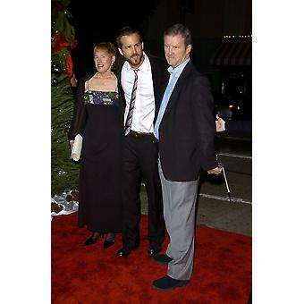 Ryan Reynolds Parents At Arrivals For Just Friends Premiere MannS Village Theatre In Westwood Los Angeles Ca November 14 2005 Photo By David LongendykeEverett Collection Celebrity