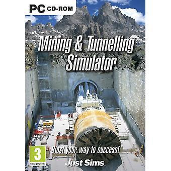 Minedrift og tunnel Simulator (PC CD)-ny