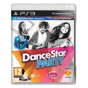 Dancestar Party-Move vereist (PS3)-nieuw