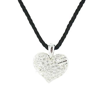 Heartbreaker by Dragon rock ladies silver pendant chain LD AT 52