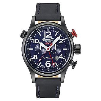 Ingersoll men's watch wristwatch automatic Lawrence IN3218BBL