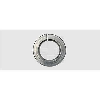 SWG 447667 Split Lock Ring Innendurchmesser: 6,1 mm M6 DIN 127 Edelstahl A2 100 Stk.