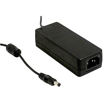 Mean Well GSM60A12-P1J Bench PSU (fixed voltage) 12 V DC 5 A 60 W