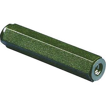 534641 Spacer (L) 25 mm M4 polyamidi 1 kpl/s