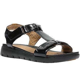 Clarks Un Haywood Womens Wide-Fit Sandals