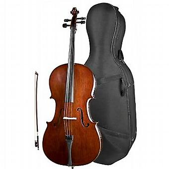 Stentor Conservatoire Cello Outfit 1/4 - Warehouse Clearance