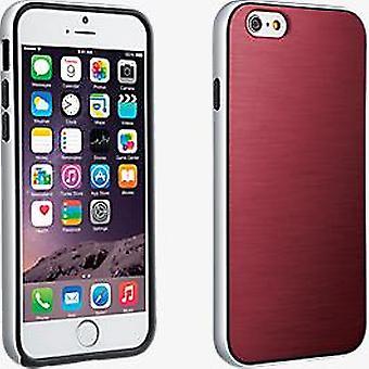 Verizon suave caso de parachoques para el iPhone 6/6s - rojo Marsala
