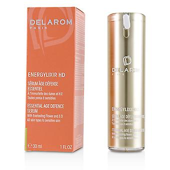 Delarom Energylixir Hd Essential Age Defence Serum - For All Skin Types To Sensitive Skin - 30ml/1oz