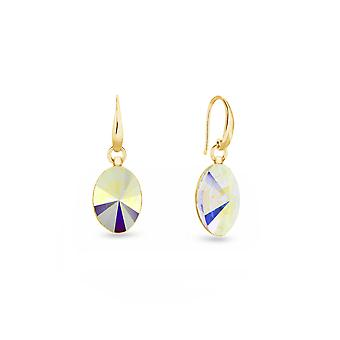 Earrings Oval Gold