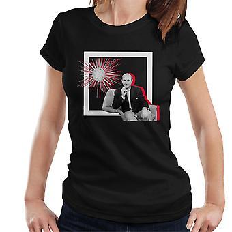 TV kertaa Donald Pleaseance Retro runko naisten t-paita