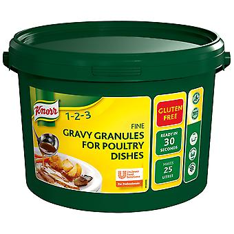 Knorr Professional Gluten Free Poultry Gravy Granules
