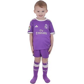 Adidas Performance Real Madrid weg 16/17 Junior jongens Replica voetbal Mini Kit