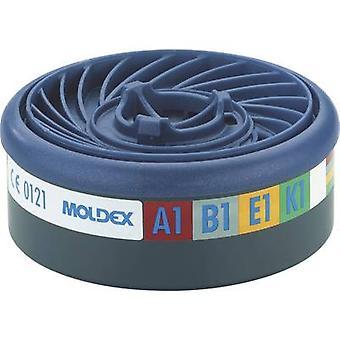 Moldex Gas filter EasyLock® A1B1E1 940001 Filter class/protection level: A1B1E1 10 pc(s)