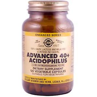 Solgar Advanced 40+ Acidophilus Vegetable Capsules 120ct